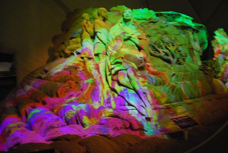 取砂丘イルミネーションと D-K LIVE 2010 in 砂の美術館 90