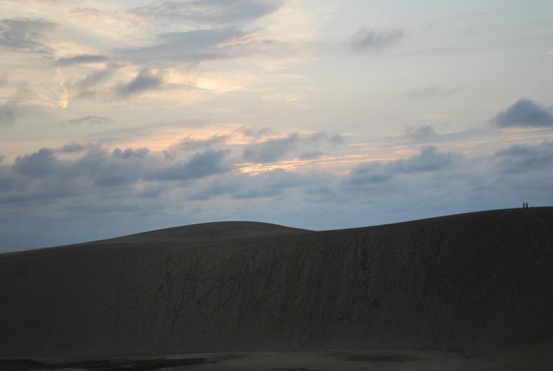 鳥取砂丘の夕暮れ 3