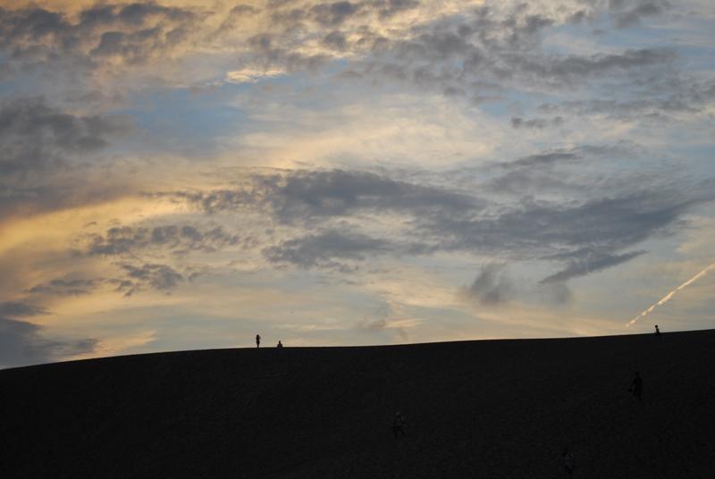 鳥取砂丘の夕暮れ 16