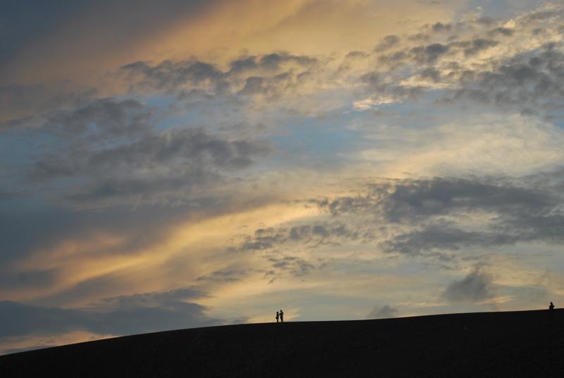 鳥取砂丘の夕暮れ 19