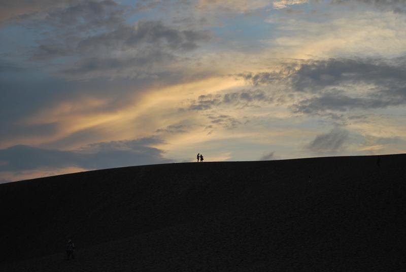 鳥取砂丘の夕暮れ 20