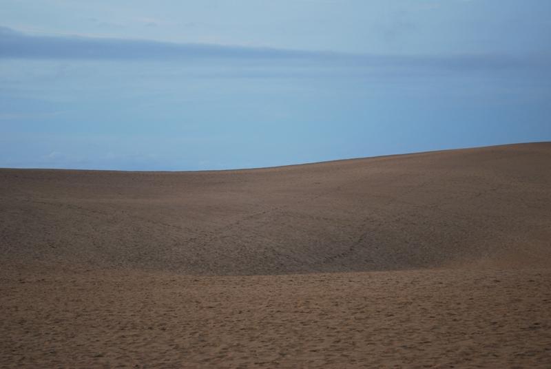 鳥取砂丘の夕暮れ 21