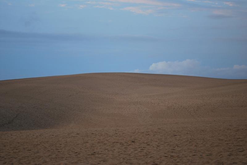 鳥取砂丘の夕暮れ 22