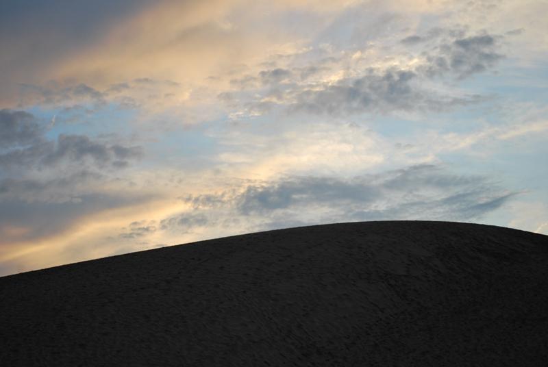 鳥取砂丘の夕暮れ 23
