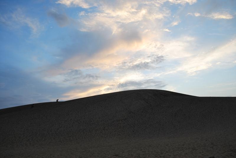 鳥取砂丘の夕暮れ 24