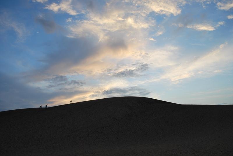 鳥取砂丘の夕暮れ 25