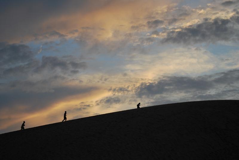 鳥取砂丘の夕暮れ 26