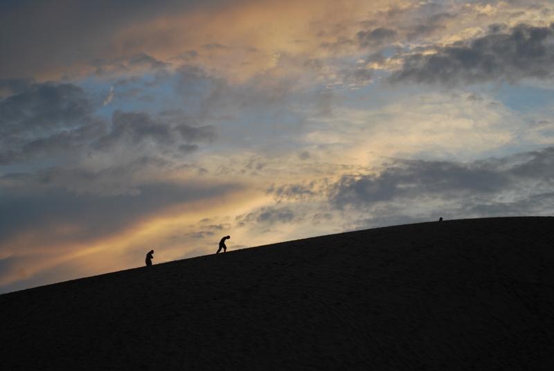 鳥取砂丘の夕暮れ 27