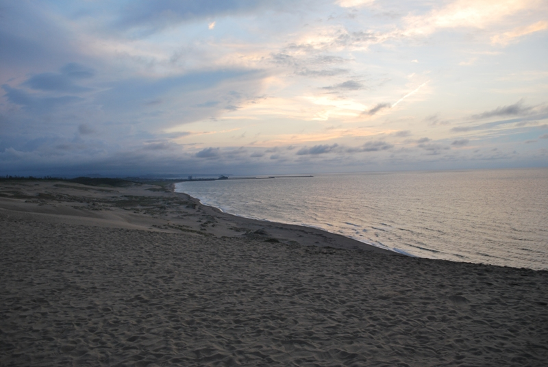 鳥取砂丘の夕暮れ 38
