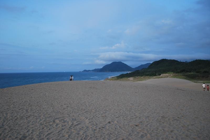 鳥取砂丘の夕暮れ 40