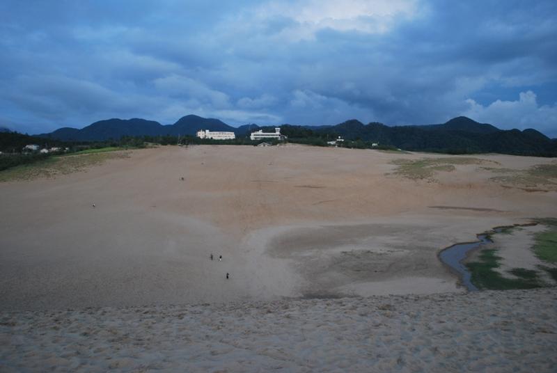 鳥取砂丘の夕暮れ 41