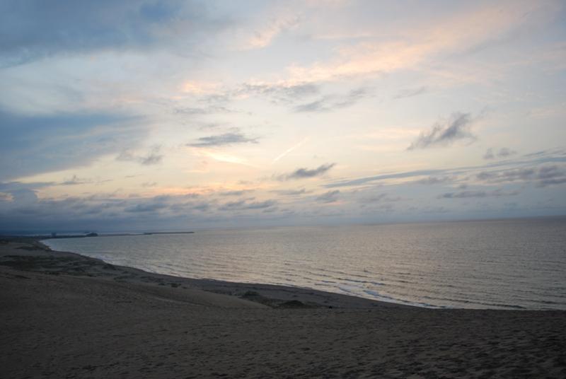 鳥取砂丘の夕暮れ 42