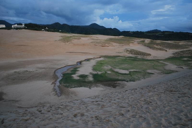 鳥取砂丘の夕暮れ 43