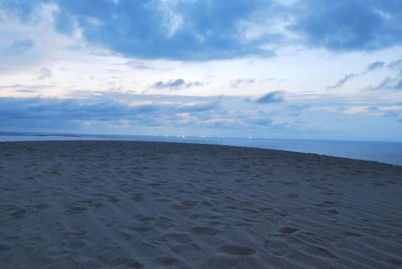 鳥取砂丘の夕暮れ 44