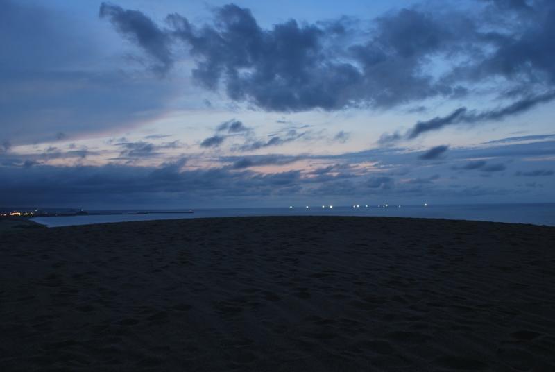 鳥取砂丘の夕暮れ 45