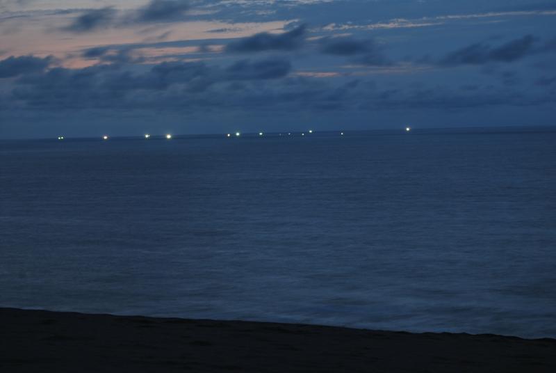 鳥取砂丘の夕暮れ 47