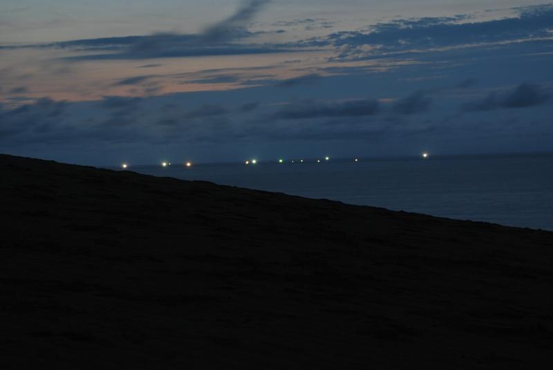 鳥取砂丘の夕暮れ 48