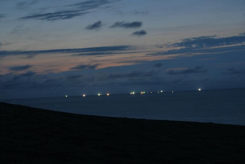 鳥取砂丘の夕暮れ 49