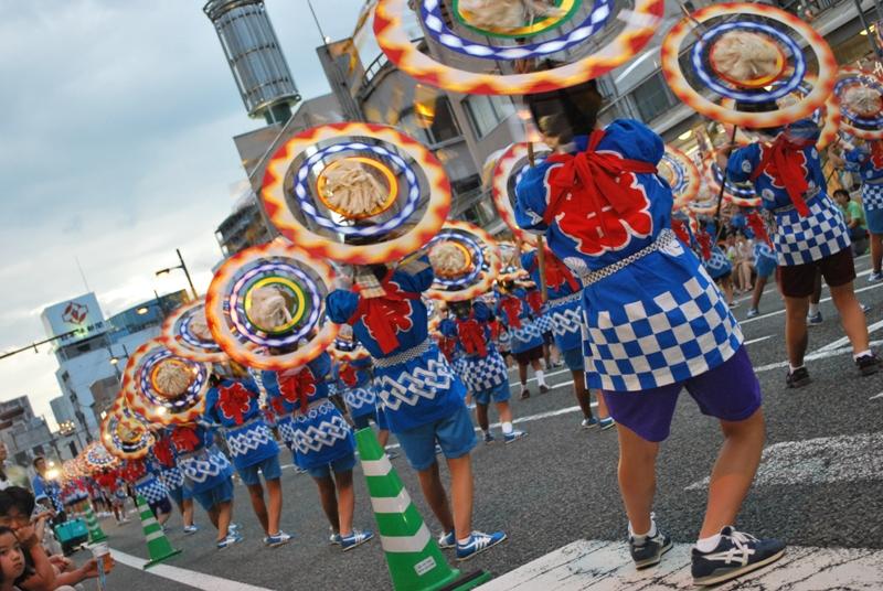しゃんしゃん祭り 2012