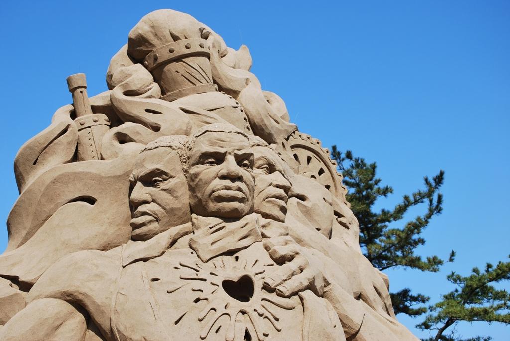 世界砂像フェスティバル 鳥取因幡の祭典2009
