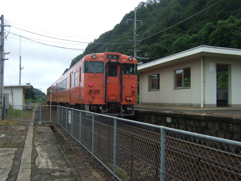 鳥取砂丘に一番近いJRの駅 福部駅