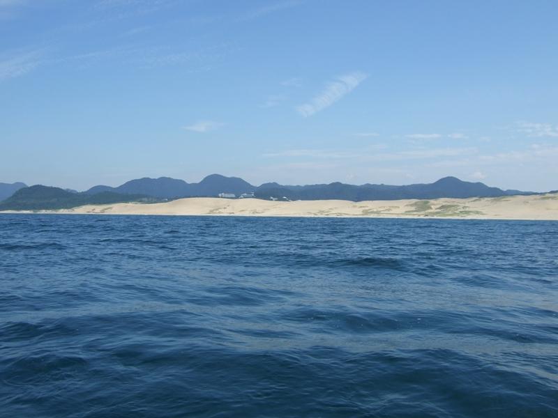 2009/8/23 海からの砂丘