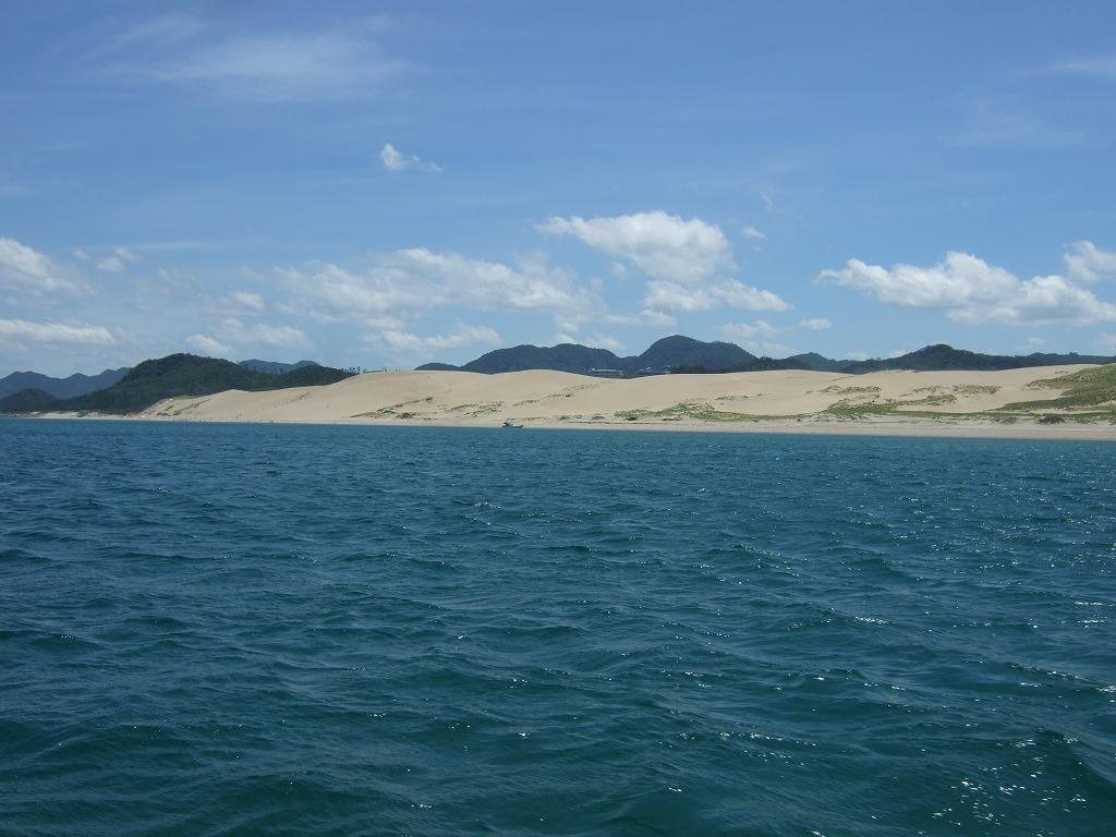 西沖からの砂丘