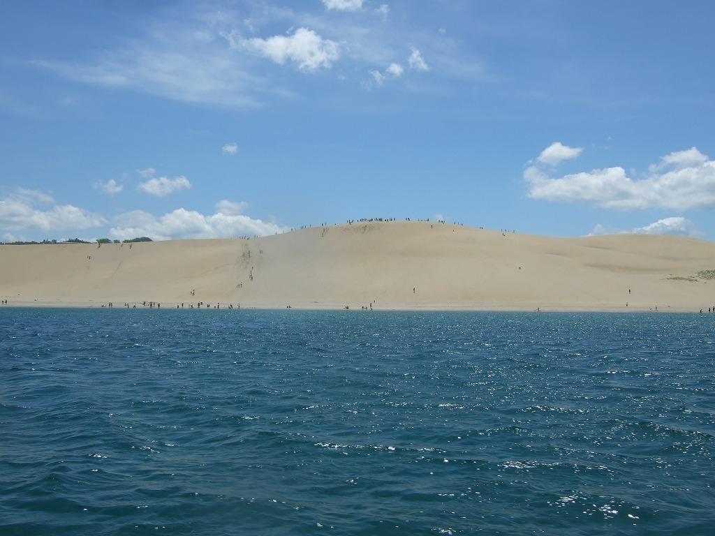 北沖からの砂丘 馬の背
