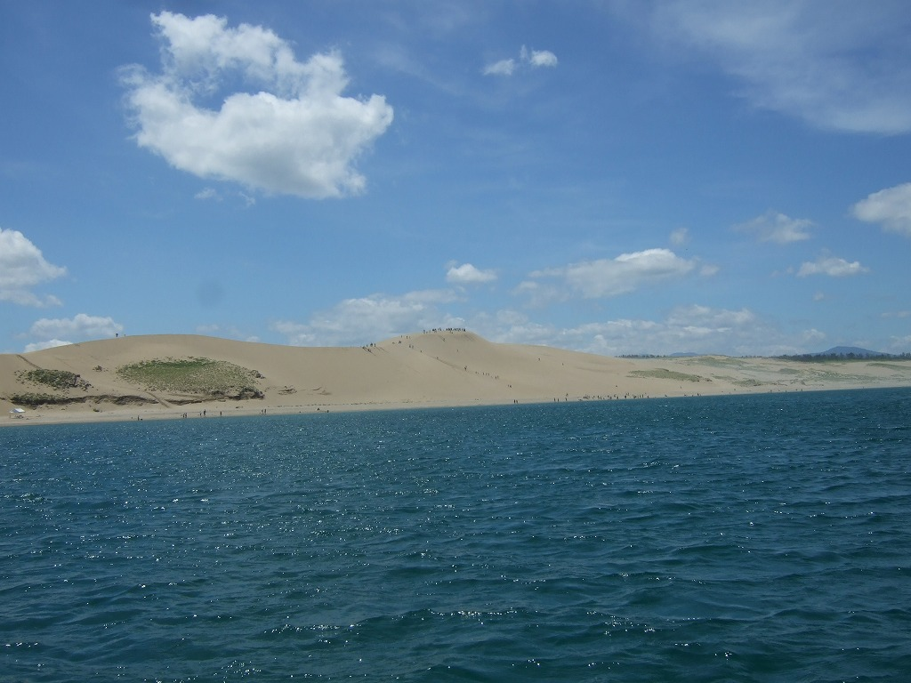 東沖からの砂丘